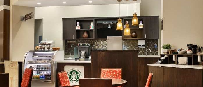 We Proudly Brew Starbucks