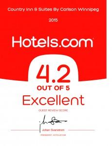 Hotels.com excellent award2