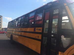 Red Zone Charter Bus